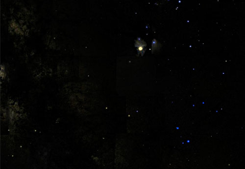 созвездие скорпион фото на небе