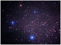 Созвездие Южный Крест и входящие в него Акрукс и Гакрукс.